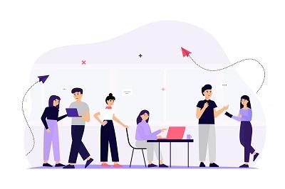 ایجاد ارتباط با تیم کاری از شماره مجازی تلفن